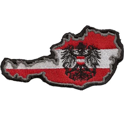 sterreich aufn her patriots rot weiss rot austria patch abzeichen. Black Bedroom Furniture Sets. Home Design Ideas